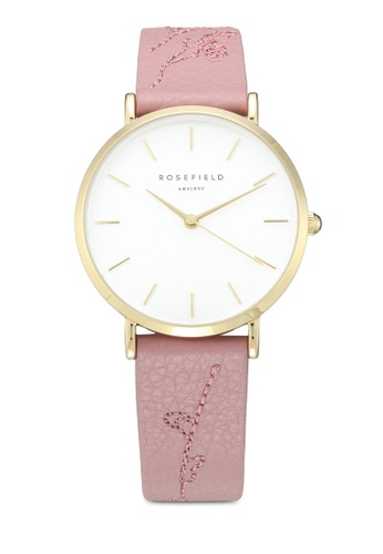 Rosefield 粉紅色 City Bloom 手錶 E952CAC80E8565GS_1