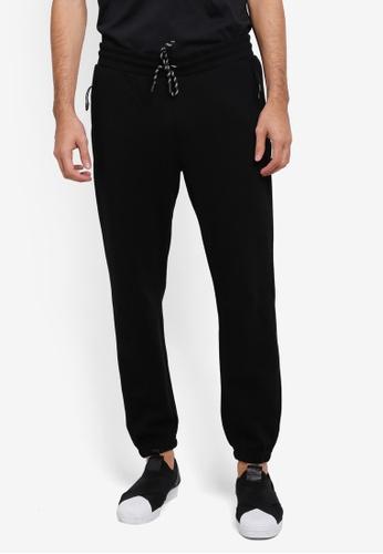Cotton On black Coar Tech Track Pants CO372AA0SSAPMY_1