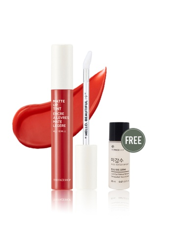 THE FACE SHOP red Matte Up Tint 05 Red Stain 277A2BE4D1083DGS_1