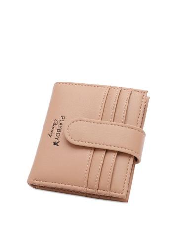 PLAYBOY BUNNY beige Women's Bi Fold Purse / Bi Fold Wallet 93E2FAC0443DE7GS_1