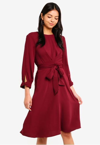 36fd1d0cf1 Buy ESPRIT Light Woven Midi Dress Online on ZALORA Singapore