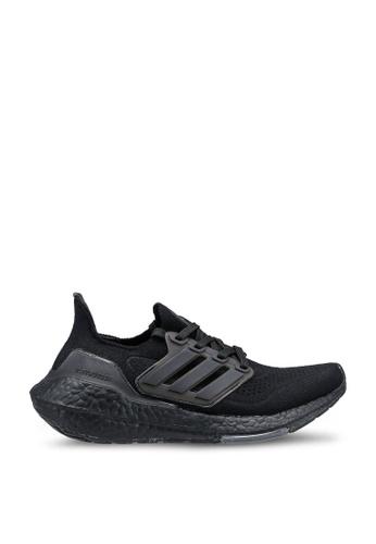 ADIDAS 黑色 ultraboost 21 shoes 82D05KSF24C4F2GS_1