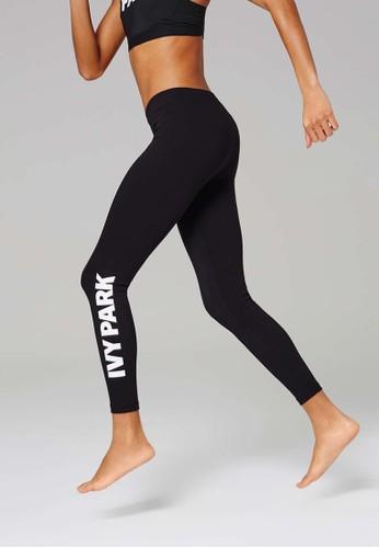 品牌標誌彈性運動長褲, 服zalora時尚購物網評價飾, 服飾