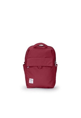 Hellolulu red Hellolulu Mini Carter Backpack (Ruby Red) 24EEFACA9E39C7GS_1