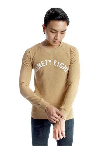 Praise beige Light Weight Pullover PR067AA09ZRMSG_1