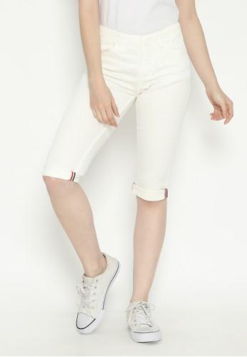 Mobile Power white 3/4 Pants Broken White Mobile Power Ladies - D30108 78DCEAA5AE0AECGS_1