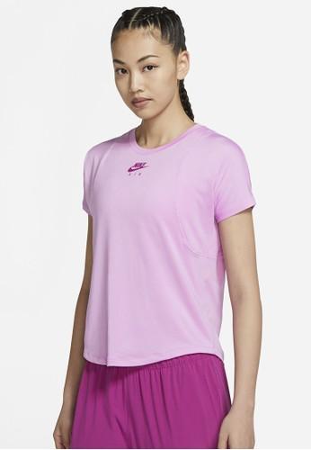 Nike pink AS Women's Air Top SS 11095AA346B338GS_1