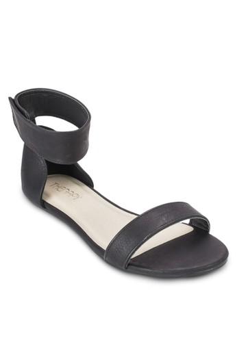 Rosesprit童裝門市ebud 包跟繞踝涼鞋, 女鞋, 鞋