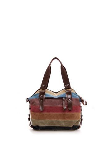 c6fca4ff15a Shop Lucky JX Adelle Vintage Happy Color Shoulder Bag Online on ZALORA  Philippines
