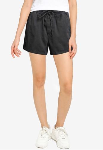 Gap black Pull-On Shorts 0CD6AAA16372B6GS_1