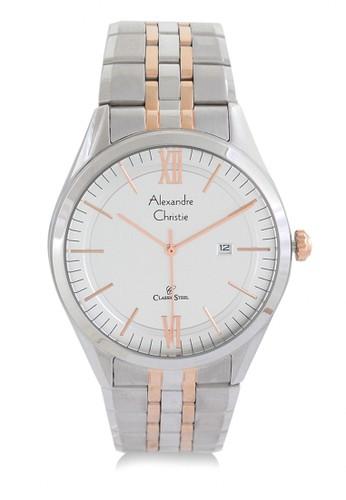 List Source · Alexandre Christie silver Alexandre Christie 8510 Putih Jam Tangan Pria .