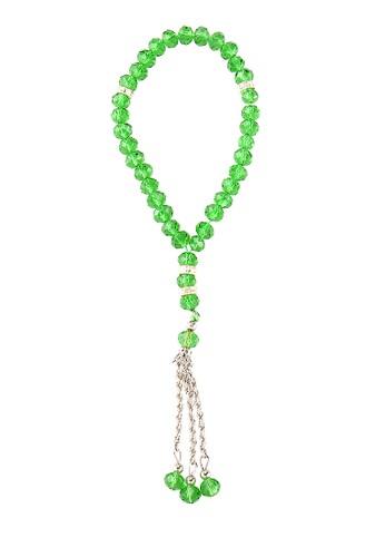 SHALIMAR green Shalimar Beads Crystal Premium 33 Tasbih SH713AA78CMJID_1