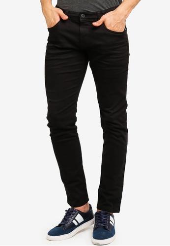 ESPRIT 黑色 修身牛仔褲 7D1D5AA3AC39A3GS_1