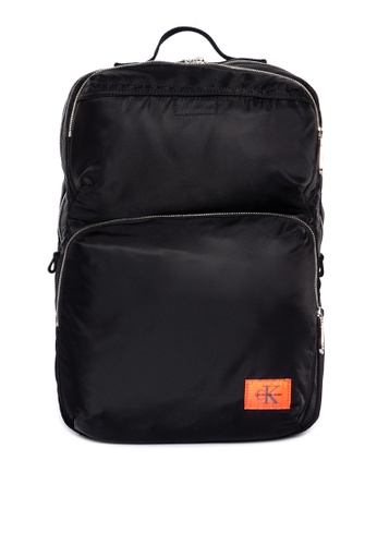 9e1ab3ae66376a Shop Calvin Klein Pilot Twill Square Backpack Online on ZALORA Philippines