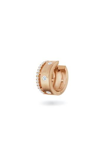 Aquae Jewels pink Earring Cuff Rich & Bold 18K Gold And Diamonds - Rose Gold F8A05ACDD37E5FGS_1