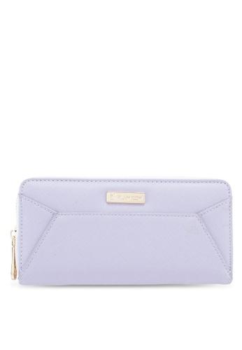 PLAYBOY BUNNY purple Ladies Zipper Purse 12502ACC53D827GS_1