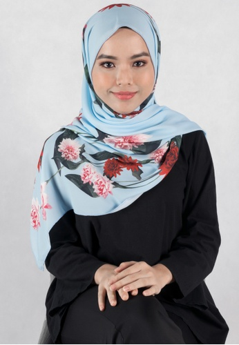 IRA by Twenty3 blue [LIMITED EDITION] Heliza Scarf in Light Blue 6FF4BAA6C1560CGS_1