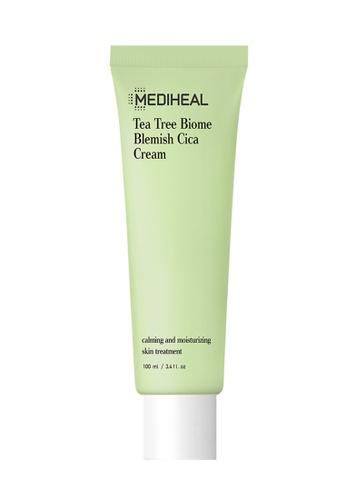 Mediheal green Mediheal Tea Tree Biome Blemish Cica Cream 100ml 70AE9BEE59A727GS_1
