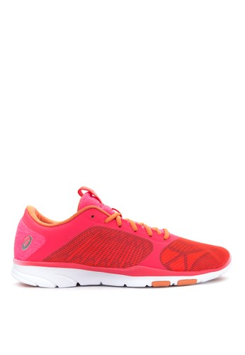 Asics pink and orange and silver GEL Fit Tempo 3 Training Shoes AS445SH34UJPPH_1