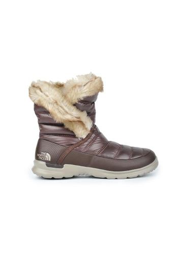 The North Face brown TNF W NUPTSE BOOTIE FF VI SHNYCFEBNBRN/DUNBEG TH879SH0GHDESG_1