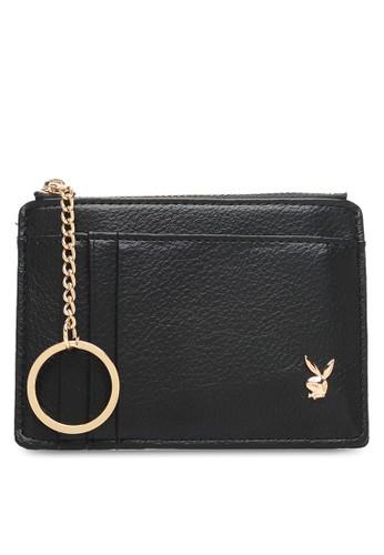 PLAYBOY BUNNY black Ladies Coin & Card Holder 5F553AC59953A8GS_1