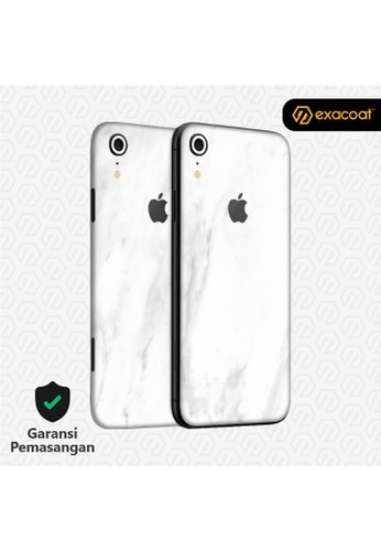 Exacoat iPhone XR 3M Skins Stone Series - Marble White C0B6DESBB70FDAGS_1