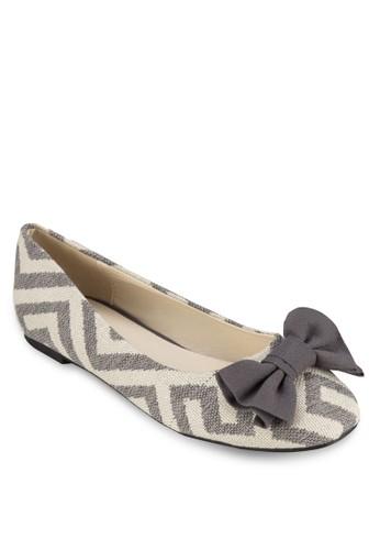 Lane 蝴蝶結平底鞋, 女鞋, zalora 順豐芭蕾平底鞋