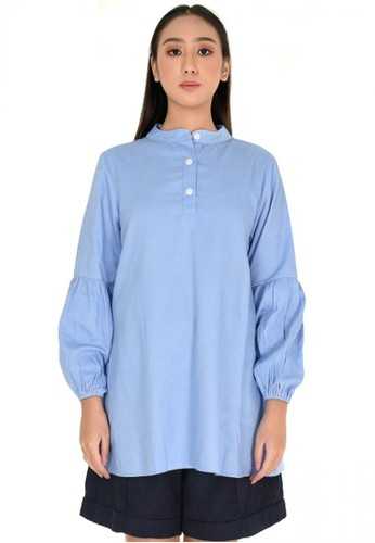 Elizabeth Clothing blue Elizabeth Vahida Tunic AB939AA3497F7FGS_1