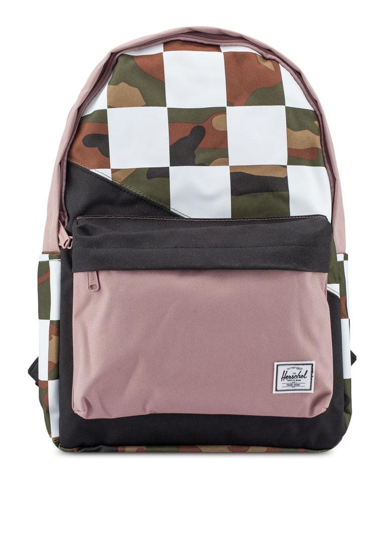 ef94779f7c Classic Backpack XL Ash Black Camo Rose Friday Herschel Woodland Checker  7f7qr ...