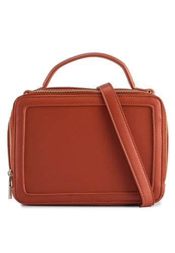 Milliot & Co. 紅色 Astrid Sling Bag B8AF7AC676DAD7GS_1