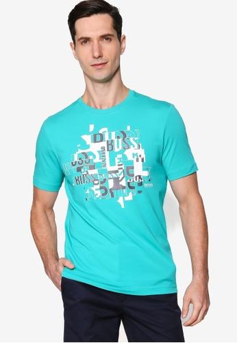 BOSS green Typography T-Shirt 7F51DAA660BE78GS_1