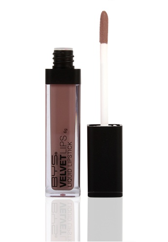 BYS beige Liquid Velvet Lips in Soft Cashmere BY206BE48WJZPH_1