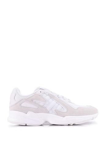 ADIDAS white adidas Originals Yung-96 Chasm Shoes 11AA3SH6270AA5GS_1