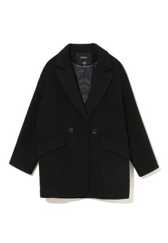 LOS ANGELES PROJECT -FASHION black Wool peacoat. F4F2AAA8892473GS_1