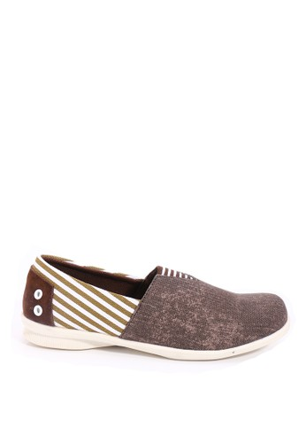Dr. Kevin Women Flat Shoes Slip On 43143 - Coffee