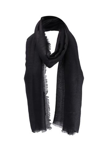 Dorothy Perkins black Black Recycled Scarf FEC27ACD6189CEGS_1