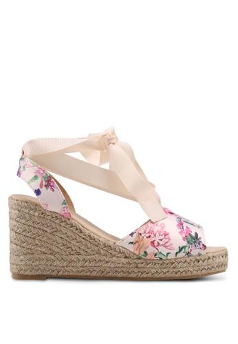 Vero Moda beige Sally Wedge Sandals 337B1SHECFF38AGS_1