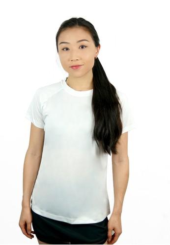 Trijee white Trijee Women Short Sleeve Tee Cecilia - White 03160AAA26253BGS_1