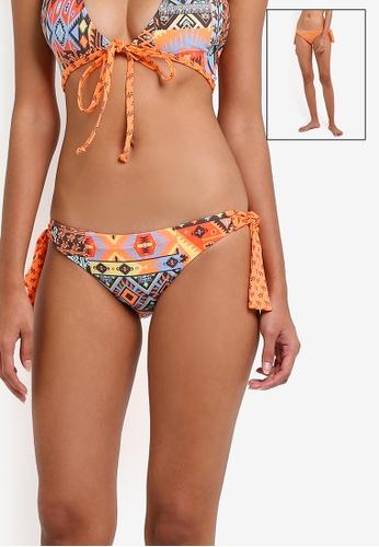 Piha multi California Dream Reversibile Brazilian Bikini Bottom PI734US0RU20MY_1