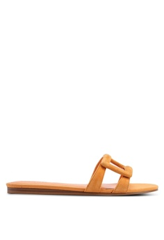 9dc4cac901 ... NOW HK  271.90 Available in several sizes · Mango orange Casual Sandals  FC76FSH55B528FGS 1