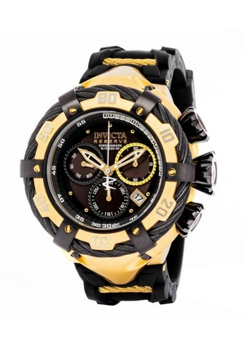 INVICTA gold Invicta Bolt Men Swiss Quartz Chronograph IP 55mm Dress Watch 21367 05274ACF59E9A2GS_1