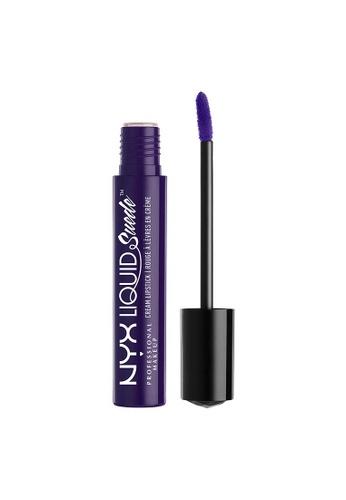 NYX Professional Makeup purple NYX Professional Makeup Liquid Suede Cream Lipstick - Subversive Socialite 97C86BEEFD92E8GS_1