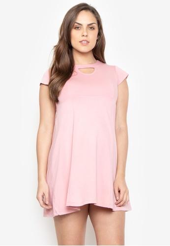 baa53de303bb0 Shop Belly Bump Maternity Dress, Keyhole Neck Online on ZALORA Philippines