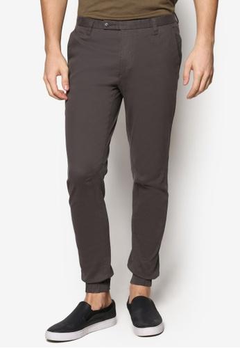 Sparrow Green 灰色 Ed Slim Jogger Pants SP065AA45WLEMY_1