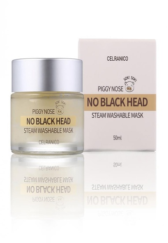 Celranico white Celranico Piggy Nose Black Head Sok Sok Steam Washable Mask E15F2BEDB2BC0EGS_1