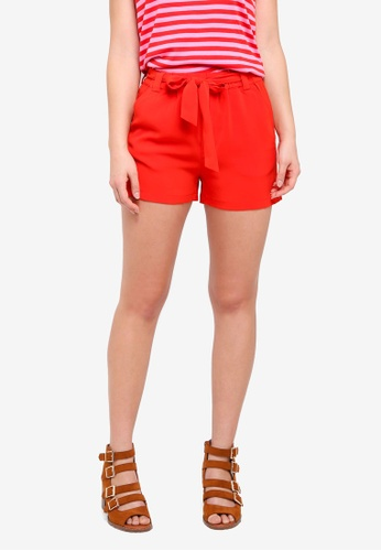 MbyM red Juanita Shorts 6679FAA780533DGS_1