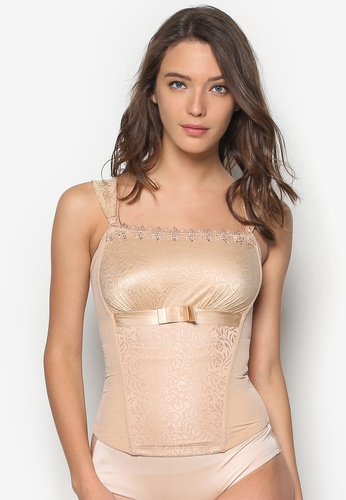 Impression beige Corset With Bonings IM679US72NHRMY_1