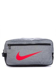 30d967519a4 Nike grey Nike Brasilia Training Shoe Bag 245C6AC5090284GS_1