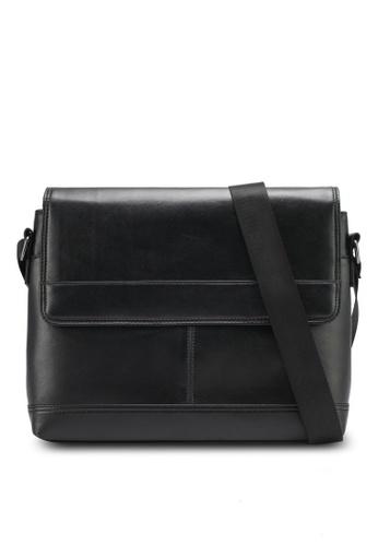 ZALORA black Flap Crossbody Bag B3A59ZZF200D0AGS_1