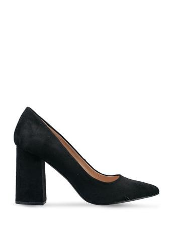 Forever New black Bianca Block Court Shoe FFCB1SHE0F947FGS_1